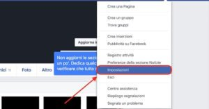eliminare account facebook