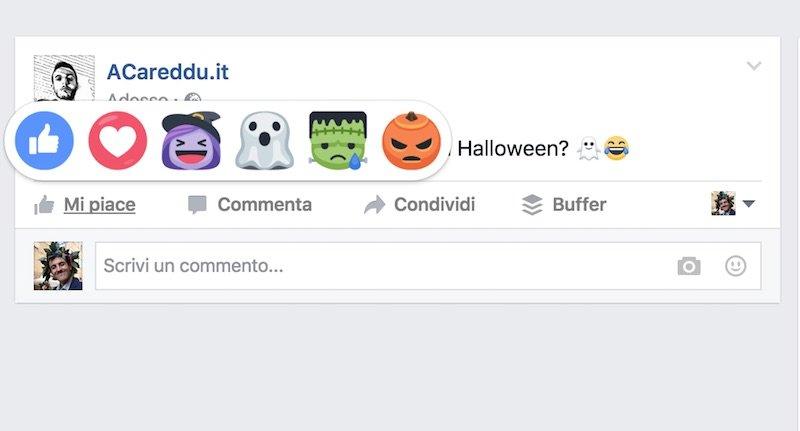 reactions halloween